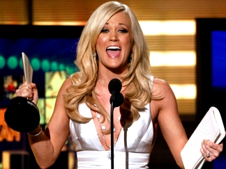 Carrie Underwood Topples Swift at Academy of Country Music Awards