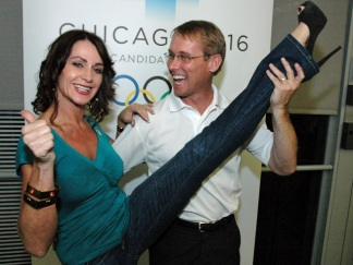 Team Chicago 2016 Takes Off With Olympic Power