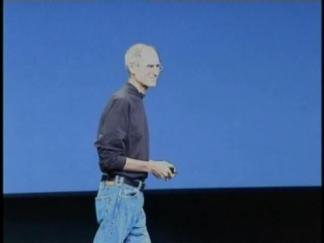 Steve Jobs Takes the Stage
