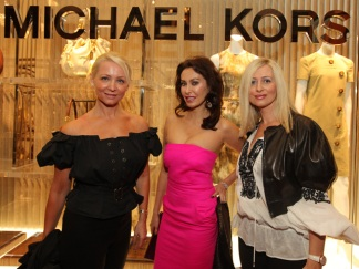 Fashion Scenesters Hit Kors' Mag Mile Launch