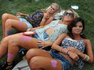 The Pretty Ladies of Lollapalooza