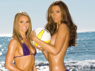 Playboy's Team Gorgeous Hits Chicago's Beaches