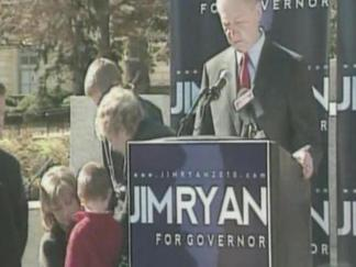 Jim Ryan Launches Bid for Governor