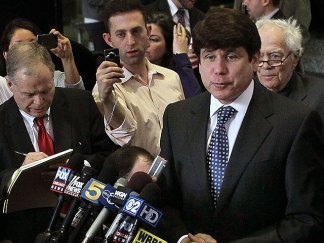 PHOTOS: The Blagojevich Media Circus