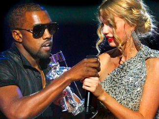 MTV Video Music Awards: Kanye Crashes Taylor Swift's Speech