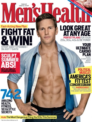 The Legend of Aaron Schock Grows