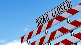 Airborne Oily Substance Prompts Shutdown of Road