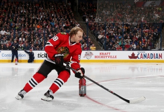 Kane Bests Toews in Skills Competition