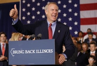 Rauner to Benefit From Budget Cuts With $750K Tax Break