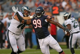 Bears' Front Seven in for Big Test Against Bills