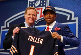 Bears' First Round Pick Fuller Agrees to Four-Year Contract