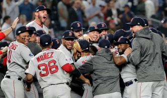 Red Sox Hold Off Yankees in Game 4, Face Astros in ALCS