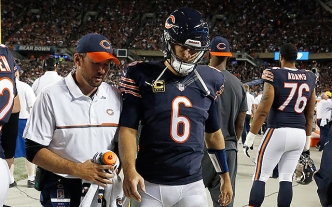 Bears Elevate Quarterback Matt Barkley From Practice Squad