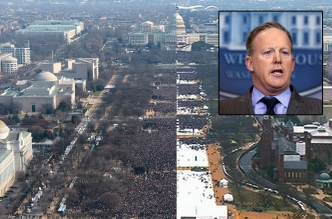 White House Slams Coverage of Inaugural Crowd Size
