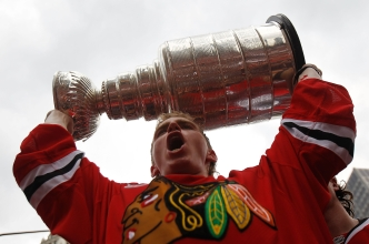 Stanley Cup on Display at Illinois State Fair