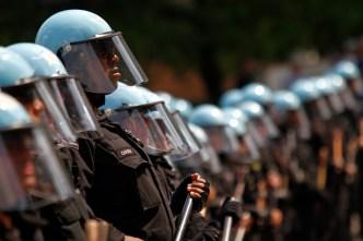 Police Fight For NATO Summit Compensation