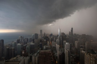 Severe Thunderstorm Watch Issued for Chicago Area