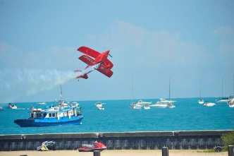 Air & Water Show Forecast: One Day Better Than the Other