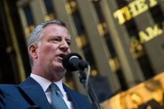 NYC Mayor Seeks $35 Million for Trump-Related Security Costs