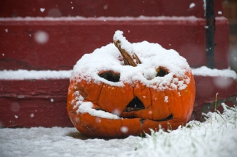 Chicago Sees its Snowiest Halloween on Record