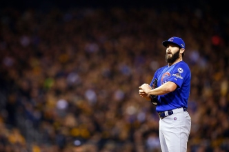 Arrieta, Cubs Ready for Cardinals With NLDS Tied at 1-All