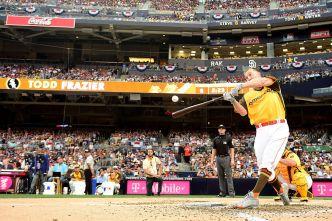 Todd Frazier Falls to Stanton in All-Star Home Run Derby