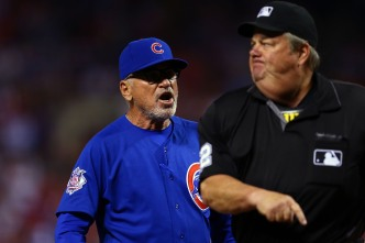 Maddon Miffed at Joe West Following Monday Ejection