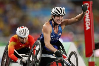 McFadden Wins Silver in Paralympic Marathon Photo Finish