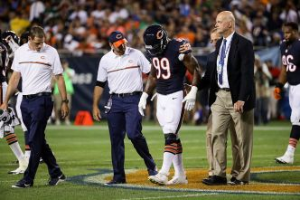 Lamarr Houston Suffered Torn ACL in Bears' Loss: Report