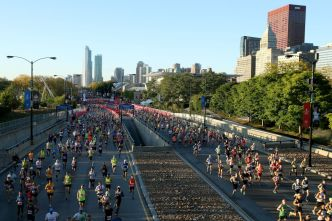 History Made at Exciting Chicago Marathon