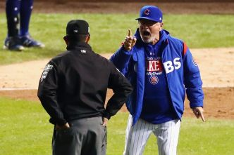 Ump Admits He Missed Call After Cubs' Maddon Tossed Again
