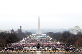 Moments of Empowerment, Passion and Poignancy on the Mall