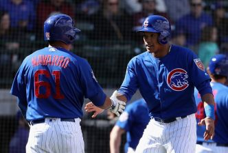 Cubs Bring Up Efren Navarro After Rizzo Placed on DL