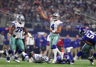 Record-Setting Witten, Cowboys Top Giants 19-3 in Opener