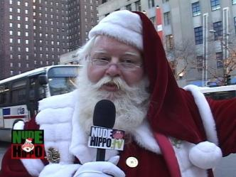 Santa Takes to the Streets of Chicago
