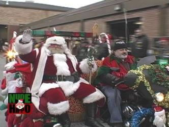 Classic Nude Hippo: Chicagoland Toys for Tots Motorcycle Parade
