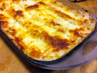 Wayne's Weekend: Vegetable Lasagna