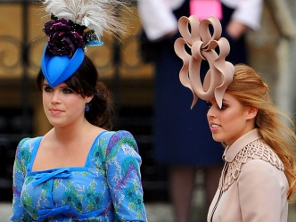Hat Tricks: Regal Headgear at Wedding