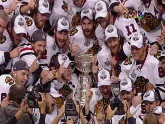 One Stanley Cup.  So Many Engraved Names.