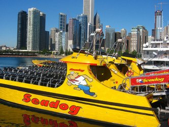 Take a Ride on Chicago's Fastest Speedboat Lake Tour