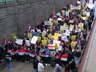 "Egyptian Crowd: ""The Regime Has Fallen"""