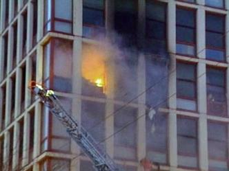 High-Rise Fire Breaks Out on West Side
