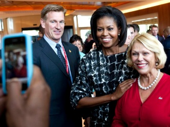 "First Lady: Chicago ""A City That Works Really Well"""