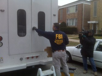 FBI Raids Apartment in Search for Synagogue Vandal