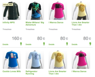 Threadless, Microsoft to Sell Shirts You Can't Wear
