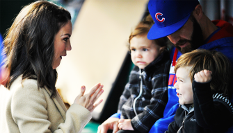 Arrieta Takes Family Trick-or-Treating Before Game 6