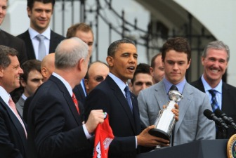Hawks' White House Visit Smells of a Gimmick