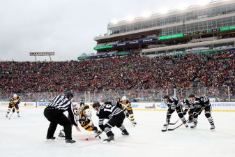 Blackhawks Lose to Bruins in Winter Classic