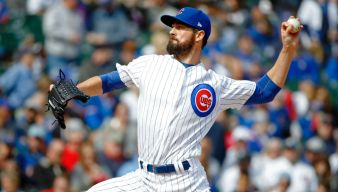 Cubs Pick Up Hamels Contract Option