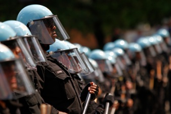 Police Fight For NATO Summit Compensation